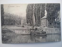 Saint Venant         (peniche )schiffe Arken Binnenvaart - Péniches