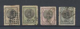 PERSIA Kingdom - IRAN  1876  Yvert 13/6  Oblitérés - Iran