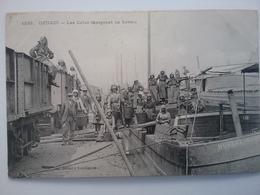 Denain          (peniche )schiffe Arken Binnenvaart - Péniches