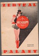 Wien / Vienne (Autriche) Programme ZENTRAL PALAST (Kaffe Kabarett Bar)  15 Jänner 1944 (PPP15974) - Programs