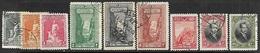 Turkey  1926  9 Diff Used   2016 Scott Value $5.25 - 1921-... Republik