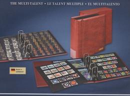 Paquet De 9 Feuilles à 6 Bandes Pour Classeur Multicollect Lindner MU 1336 à Moins 50 % - Albums & Reliures