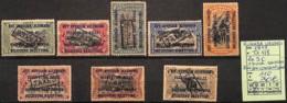 [825225]Ruanda-Urundi 1919 - TX1/8, La SC, 1 Surcharge, Renversée, Très Peu Courant Ainsi, Animaux - Ruanda-Urundi