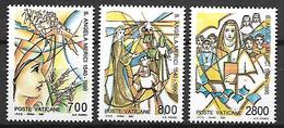 VATICAN     -    1990 .     Y&T N°  872 à 874 * .   Série Complète . - Vatican