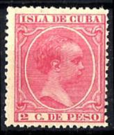 Cuba Española Nº 137 En Nuevo - Cuba (1874-1898)