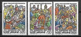 VATICAN     -    1990 .     Y&T N°  875 à 877 * .   Série Complète . - Vatican
