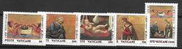 VATICAN     -    1990 .     Y&T N°  886 à 890 * .   Série Complète . - Vatican