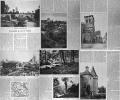 """(  HAUTE-VIENNE ) """"  SOLIGNAC / JUMILHAC-LE-GRAND / CHALUS / SAINT-YRIEIX  / COUSSAC-BONNEVAL """"  1936 - Aquitaine"""
