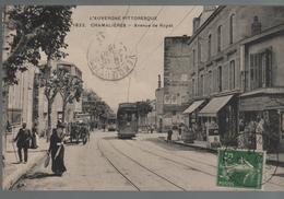 CPA 63 CHAMALIERES Avenue De Royat - Année 1912 - France