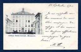 Mouscron (Moeskroen). Collège Saint-Joseph. 1900 - Mouscron - Moeskroen