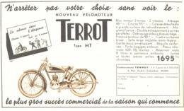 """PUB MOTO  """"  TERROT  TYPE MT """"  1936 (3 ) - Motos"""