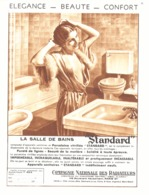 """PUB SALLE DE BAINS """" IDEAL-STANDARD """" Par POL ARLEX 1936 (1) - Reklame"""