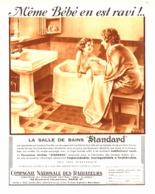 """PUB SALLE DE BAINS """" IDEAL-STANDARD """" Par POL ARLEX 1936 (2) - Reklame"""