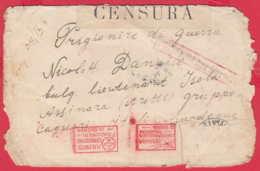 238316 / WW1 - 02.05.1918 - Prisoner Of War (POW) TETEVEN Bulgaria - Asinara Sardinia Italy - WW1