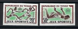 République Du Tchad, Non Dentelé, N° 80 Et 81 ** TB. JO - Tschad (1960-...)