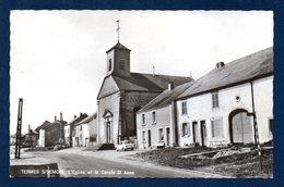 Termes Sur Semois (Chiny). L' église Et Le Cercle Sainte-Anne. - Chiny