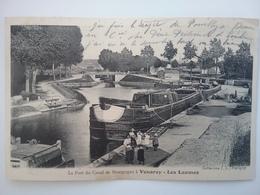 Venaray Les Laumes                 (peniche )schiffe Arken Binnenvaart - Péniches