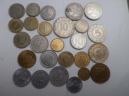Yougoslavie Lot De 26 Pieces Republique Fédérale-  Belle   Qualité  -pas De Doubles - Yougoslavie