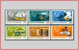 Romania 1974 - Cat. 2838/43 (MNH **) Unione Postale Universale UPU - Universal Postal Union (007883) - 1948-.... Republics