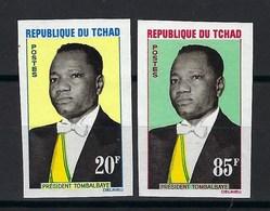 République Du Tchad, Non Dentelé, N° 84 Et 85 ** TB - Tsjaad (1960-...)