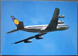 LUFTHANSA - BOEING 707 INTERCONTINENTAL JET - 1946-....: Era Moderna
