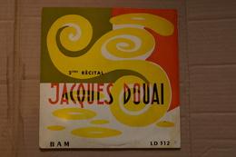 JACQUES DOUAI 2EM RECITAL 25CM DE 195? RARE VARIANTE LEO FERRE.GEORGES BRASSENS JEAN COCTEAU - Vinyl Records