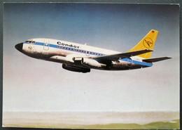 CONDOR - CITY JET BOEING 737-130 - 1946-....: Era Moderna
