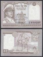 Nepal - 1 Rupee Banknote 1972 Pick 16 UNC   (22846 - Billets