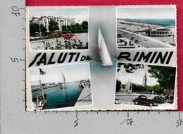 CARTOLINA VG ITALIA - Saluti Da RIMINI - Vedutine Multivue - 10 X 15 - ANN. 1953 - Saluti Da.../ Gruss Aus...