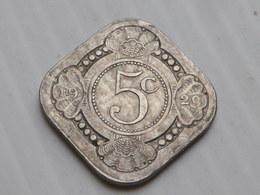 Pays Bas 5 Cents 1929    Km # 153  Wihlelmina  TTB - [ 3] 1815-… : Royaume Des Pays-Bas