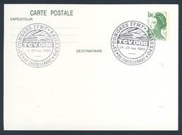 France Rep. Française 1986 Card / Karte / Carte - 33e Congres FFMF * Railexpo, 24-25 Mai 1986, Chatellerault - Treinen