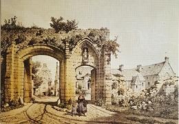 France 14, Environs De Bayeux.., Longues, Porte De L'Abbaye, Non Circulee - Bayeux