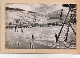 CPSM - MEGEVE (74) - Aspect Du Remonte-pente-tire-fesses En 1957 - Megève