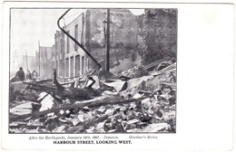 Jamaica, After The Earthquake, 1907. Harbour Street, Looking West - Jamaïque