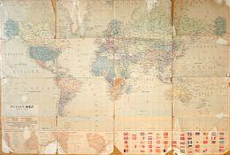 F Carte Géographie Du Monde: JRO Karte Welt - Die Grösseren Deutschen Kolonien (Togo, Kamerun, Ostafrika, Südwestafrika) - Cartes Géographiques