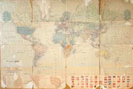Carte Géographie Du Monde: JRO Karte Welt - Die Grösseren Deutschen Kolonien (Togo, Kamerun, Ostafrika, Südwestafrika) - Carte Geographique