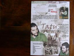 Cuba 2005 Mint Aerogramme Che Guevara - Famous People