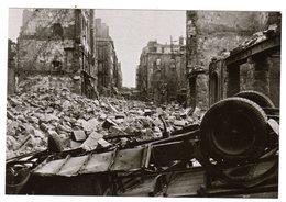 CPSM Brest 29 Finistère Rue De Lyon Septembre 1944 Après Bombardement Dégâts De Guerre - Brest