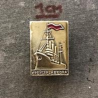 Badge Pin ZN007375 - Ship (Schiff / Boat) Aurora (Avrora) Russia Soviet Union (USSR / SSSR / CCCP) - Bateaux