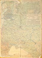 F - Carte Géographie De Russie En 1941: JRO Karte N° 810 Russland - Geographische Angaben - Cartes Géographiques