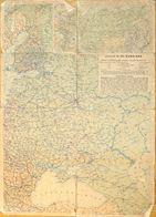 Carte Géographie De Russie En 1941: JRO Karte N° 810 Russland - Geographische Angaben - Carte Geographique