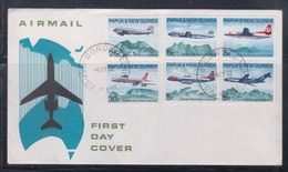 Papua New Guinea 1970 Australia/New Guinea Air Services FDC(BOROKO Cancellation) - Papua New Guinea