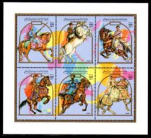25.8.1992; Les Cavaliers, YT 1844 - 1849, En Bf, Neuf **, Lot 50422 - Libya