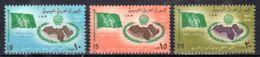 22.3.1970; 25e Anniversaire De La Ligue Arabe, YT 356 - 358;  Neuf **, Lot 50448 - Libië