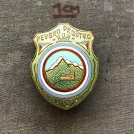 Badge Pin ZN007388 - Music Yugoslavia Slovenia Lasko Pevsko Drustvo Hum - Music