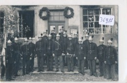 CPA-36915- 57 - A Localiser Vers Sarrebourg (2 Scans)  - Carte Photo Pompiers   Rare Animation - Other Municipalities