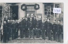 CPA-36915- 57 - A Localiser Vers Sarrebourg (2 Scans)  - Carte Photo Pompiers   Rare Animation - Autres Communes