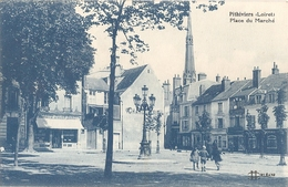 45-CPA-PITHIVIERS PLACE DU MARCHE - Pithiviers