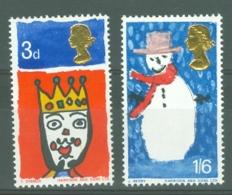 G.B.: 1966   Christmas  MNH - 1952-.... (Elizabeth II)