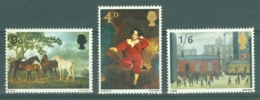 G.B.: 1967   British Paintings     MNH - Neufs